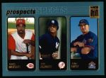 2001 Topps #732   -  Felipe Lopez / Gookie Dawkins / Erick Almonte Prospects Front Thumbnail