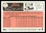 2015 Topps Heritage #539  Matt Joyce  Back Thumbnail