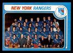 1979 Topps #254   Rangers Team Checklist Front Thumbnail