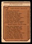 1973 O-Pee-Chee #134   -  Bobby Clarke Assists Leaders Back Thumbnail