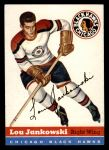 1954 Topps #28  Lou Jankowski  Front Thumbnail