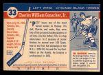 1954 Topps #33  Pete Conacher  Back Thumbnail