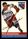 1954 Topps #22  Wally Hergesheimer  Front Thumbnail