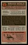 1976 Topps #63  Bruce Seals  Back Thumbnail