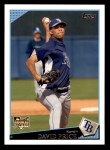 2009 Topps #35  David Price  Front Thumbnail