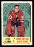 1967 Topps #115  Denis DeJordy  Front Thumbnail