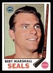 1969 Topps #80  Bert Marshall  Front Thumbnail