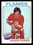 1975 Topps #117  Jacques Richard   Front Thumbnail