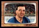 1966 Topps #85  Bernie Geoffrion  Front Thumbnail