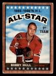 1966 Topps #125   -  Bobby Hull All-Star Front Thumbnail
