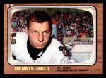 1966 Topps #113  Dennis Hull  Front Thumbnail