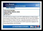 2009 Topps #297   -  Jon Beason Pro Bowl Back Thumbnail
