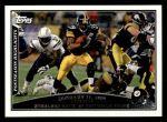 2009 Topps #316   -  Willie Parker Postseason Highlights Front Thumbnail