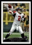 2009 Topps #323   -  Matt Ryan Offensive Rookie of the Year Front Thumbnail