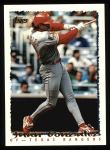 1995 Topps #70  Juan Gonzalez  Front Thumbnail