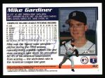 1995 Topps #97  Mike Gardiner  Back Thumbnail