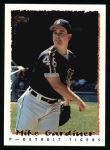 1995 Topps #97  Mike Gardiner  Front Thumbnail
