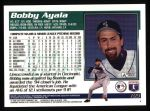 1995 Topps #193  Bobby Ayala  Back Thumbnail