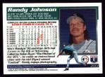 1995 Topps #203  Randy Johnson  Back Thumbnail