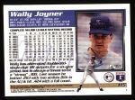 1995 Topps #115  Wally Joyner  Back Thumbnail