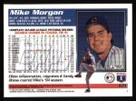 1995 Topps #121  Mike Morgan  Back Thumbnail