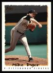 1995 Topps #136  Mike Dyer  Front Thumbnail