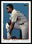 1995 Topps #152  Jose Offerman  Front Thumbnail