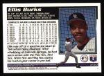 1995 Topps #235  Ellis Burks  Back Thumbnail