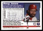 1995 Topps #495  Doug Jones  Back Thumbnail