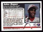 1995 Topps #604  John Roper  Back Thumbnail