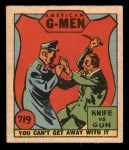 1936 Anonymous #719   Knife vs Gun Front Thumbnail