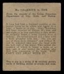 1936 Anonymous #719   Knife vs Gun Back Thumbnail