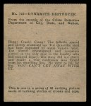 1936 Anonymous #722   Dynamite Destroyer Back Thumbnail