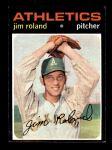 1971 Topps #642  Jim Roland  Front Thumbnail
