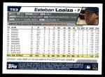 2004 Topps Traded #53 T Esteban Loaiza  Back Thumbnail