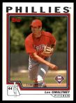 2004 Topps Traded #179 T  -  Lee Gwaltney First Year Front Thumbnail