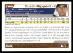 2004 Topps Traded #195 T  -  Dustin Nippert First Year Back Thumbnail