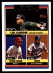 2006 Topps Update #205   -  Carl Crawford / Chone Figgins / Ichiro Suzuki AL SB Leaders Front Thumbnail
