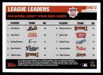 2006 Topps Update #213   -  Jose Reyes / Juan Pierre / Hanley Ramirez NL SB Leaders Back Thumbnail