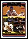 2006 Topps Update #213   -  Jose Reyes / Juan Pierre / Hanley Ramirez NL SB Leaders Front Thumbnail