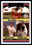 2006 Topps Update #215   -  Roy Oswalt / Chris Carpenter / Brandon Webb NL ERA Leaders Front Thumbnail
