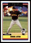 2006 Topps Update #219   -  Derek Jeter All-Star Front Thumbnail