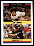2006 Topps Update #314   -  Jon Garland / Jermaine Dye White Sox Leaders Front Thumbnail