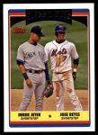 2006 Topps Update #326  Derek Jeter / Jose Reyes  Front Thumbnail