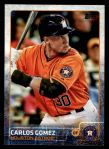 2015 Topps Update #107  Carlos Gomez  Front Thumbnail