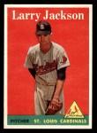 1958 Topps #97 WN Larry Jackson  Front Thumbnail