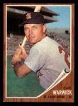 1962 Topps #202  Carl Warwick  Front Thumbnail