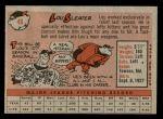 1958 Topps #46 WN Lou Sleater  Back Thumbnail