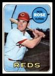 1969 Topps #120  Pete Rose  Front Thumbnail