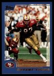 2000 Topps #4  Bryant Young  Front Thumbnail